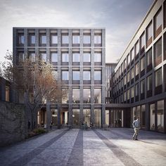 Forbes Massie / 3D Visualisation Studio / London - Work - McGonigle McGrath / War Memorial Building