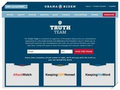 [2012 오바마 캠페인 ⑧] 오바마 '트루스 팀(Truth Team)'이 활동한지도 두 달이 지났습니다. 두 달을 맞아 Peak15 부설연구소 소셜캠페인에서 트루스팀 사이트의 콘텐츠를 해부해 보았습니다. 결론부터 이야기하면, 수비형 글보다는 공격형 글들이 월등히 많았는데요. 클릭하셔서 자세한 내용을 살펴보세요.