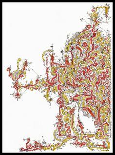 """ACID Drawings : TRIP 021 """"la tavola dei FILOSOFI"""""""