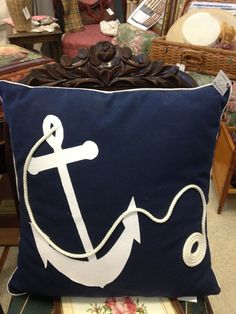 Anchor pillow-how I want some for my basement someday...