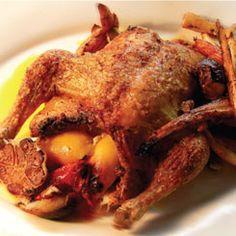 Hel kylling med citron, hvidløg og rodfrugter - REMA 1000