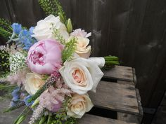 Pretty bouquet for a coombe lodge wedding Bijouxfloral.co.uk