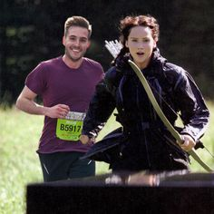 latest Hunger Games still: ridiculously photogenic guy