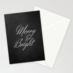 Merry and Bright Stationery Cards by Maureen Bates Photography,  Set of folded stationery cards printed on bright white, smooth card stock to bring your personal artistic style to everyday correspondence. Each card is blank on the inside and includes a soft white, European fold envelope for mailing. Starting at $12.00
