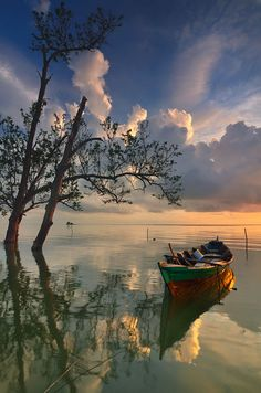 Science Discover & Boat by Ade Rinaldi Image Nature Nature Photos Beautiful World Beautiful Images Trees Beautiful Pretty Pictures Cool Photos Landscape Photography Nature Photography Image Nature, Nature Photos, Nature Nature, Water Photography, Landscape Photography, Travel Photography, Photography Aesthetic, Beautiful World, Beautiful Images