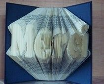 folded book art best most clear tutorial available art tutorials and tutorials. Black Bedroom Furniture Sets. Home Design Ideas