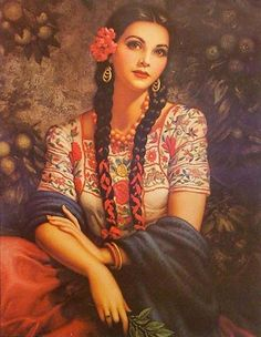 Gypsy Collection (Print) Jesus Helguera