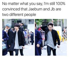 Well Jaebum is sweet while JB is daddy