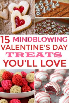 This is a wonderful list of Valentine's Day Treats You'll Love! It includes Vale… This is a wonderful list of Valentine's Day Treats You'll Love! It includes Valentine's Day Treats and Desserts! Will be pinning! Valentine Desserts, Mini Desserts, Valentines Day Dinner, Valentines Day Treats, Kids Valentines, Valentine Ideas, Valentines Baking, Oreo Dessert, Crockpot