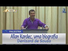 Palestra | Allan Kardec, uma biografia - Denizard de Souza - YouTube