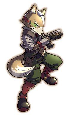 Fox McCloud from Star Fox
