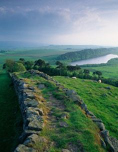 Hadrian's Wall forms 86-miles of the most important remaining structures of the Roman Empire