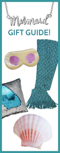 Mermaid Gifts for all Ages - the Ultimate gift guide for the Mermaid in your life