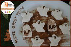 DIY Mini Ghost Peeps with No Spooky Ingredients! #realfood #halloween #unprocessed