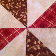 Patchwork pinwheel