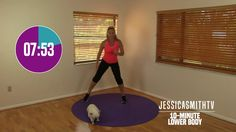 10 Minute Lower Body Workout - At Home Strength Training No Equipment, Fat Burning, Sculpting 10 Min Workout, Toning Workouts, Workout Videos, Quick Workouts, Exercise Videos, Fitness Workouts, Post Workout, Workout Challenge, Fitness Tips