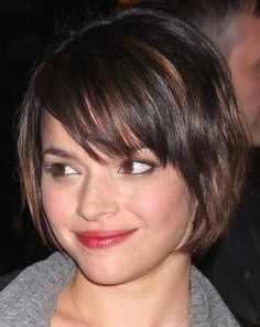 Most interesting fact about short layered bob hairstyles is more volume and seems longer. Lets check this out, 23 fascinating short layered bob hairstyles! Short Hair Styles For Round Faces, Short Hair With Layers, Hairstyles For Round Faces, Short Hairstyles For Women, Short Hair Cuts, Medium Hair Styles, Long Hair Styles, Hairstyles Pictures, Ladies Hairstyles
