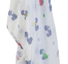 Muslin Swaddle - Tractor - available in one size - RRP £12.00