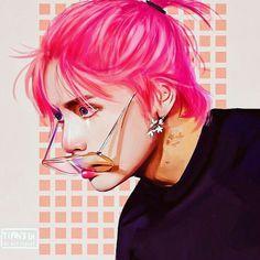 For Money ~ Kim Taehyung – 2 (Tamamlandı) – – Kpop 2020 Trend Fanart Bts, Taehyung Fanart, V Taehyung, Taehyung Red Hair, Jimin, Bts Bangtan Boy, Foto Bts, Bts Photo, Taekook