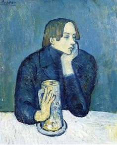 Picasso (1881-1973, Spain) | (blue period)