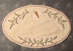 PATRÓN para el primitivo Stitchery vela estera por thetalkingcrow, $3.00