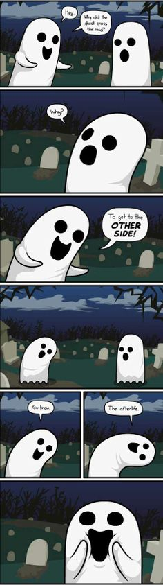 Why Did The Ghost Cross The Road?