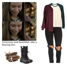 Enid - twd / the walking dead Teen Fashion Outfits, Punk Fashion, Cool Outfits, Enid Twd, Walking Dead Clothes, Old Navy Outfits, Girl Fights, Fandom Outfits, Everyday Outfits