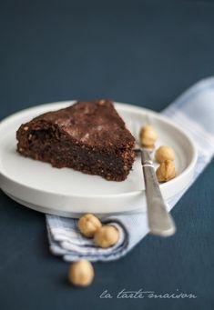 Torta densa (cioccolato e nocciole) | La tarte maison