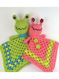What's New - Crochet - Arnie & Annie Baby Alien Lovey