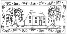 Google Image Result for http://www.emmalousprimitives.com/images/patterns/200-old-saltbox-with-willow.jpg