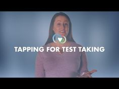 Tapping for Kids with Alison - Tapping for Test Taking The Tapping Solution, Test Taking, Eft Tapping, Brain Breaks, Test Prep, Try It Free, Live Tv, Affirmations, Spanish