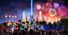 Spectacular new Star Wars fireworks show to debut June 17 at Disney's Hollywood Studios