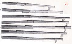Ethnographic Arms & Armour - barrels with tube fastening in 1470-80