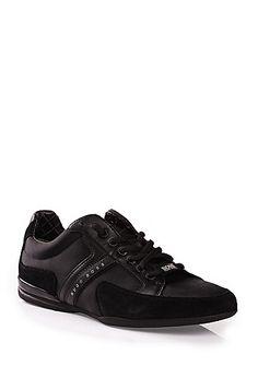 Sneakers in materiali misti con guarnizione in pelle: 'Spacit'