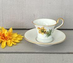 Vintage Espresso Cup - Lovely, Porcelain Demitasse Cup, German Porcelain Teacup, Rosenthal Germany Cup