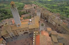 San Gimignano, the medieval town in Tuscany