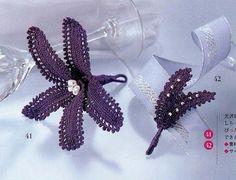 Crochet Knitting Handicraft: Crochet Flowers
