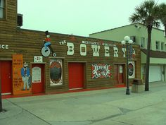 """Bowery, Myrtle Beach, SC. This IS the spot Alabama began their singing career. You could, still can, stand outside and listen to whoever is performing that night. Alabama has a song called """" Shaggin' on the Boulevard"""". It's all about Myrtle Beach, places they cared so much about."""