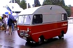 The Flying Tortoise: From Sweden In The 1960's. The Very Cute Saab Campervan...