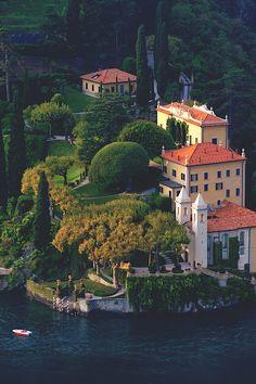 Villa del Balbianello on Lake Como