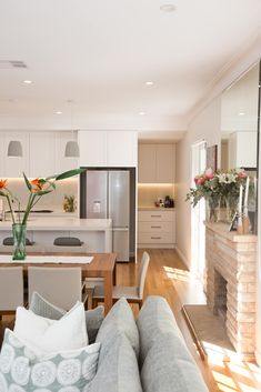 Living, Dining, Kitchen, Butler's Pantry. What more could you want in this space!?