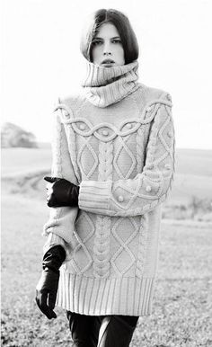 Autumn/Winter Inspiration: #Knitwear #fashion