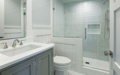 vanity design, tile colour
