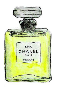 Chanel n @ 5 parfum perfume Perfume Chanel, Chanel Art, Chanel No 5, Coco Chanel, Chanel Decor, Chanel Canvas, Chanel Beauty, Art And Illustration, Fashion Sketches