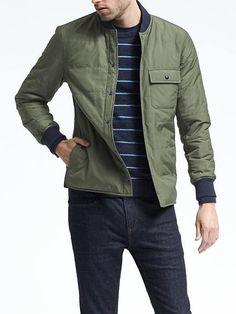 Four-Pocket Military Jacket | Banana Republic