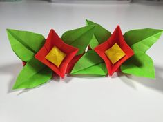 簡単折り紙 春の花