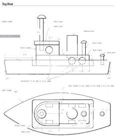 Make Homemade Toys Tugboat