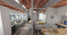 Don't miss this extraordinary, expandable tiny home built to downsize in style
