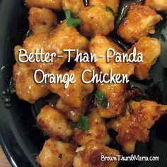 """Just say """"NO!"""" to takeout and make homemade orange chicken that's better than Panda!"""