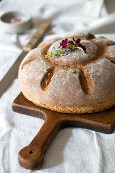 Amaranth-Honey Bread at Cooking Melangery #recipe
